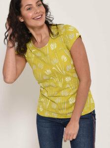 Svetlozelené vzorované tričko Brakeburn