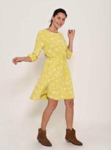 Žlté kvetované šaty Brakeburn