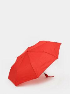 Červený vystreľovací dáždnik Moon