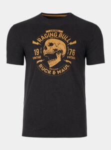 Čierne tričko Raging Bull