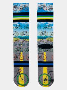 Šedo-modré pánske ponožky XPOOOS