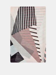 Krémová vzorovaná šatka Dorothy Perkins