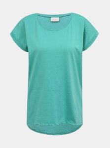 Modré basic tričko VILA
