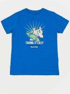 Modré chlapčenské tričko Blue Seven