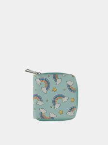 Svetlomodrá dámska peňaženka Haily´s Rainbow