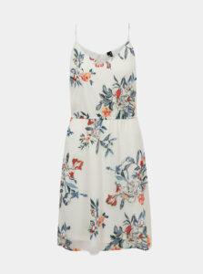 Biele kvetované šaty VERO MODA