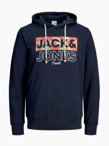 Tmavomodrá mikina Jack & Jones Tropic