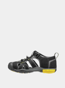Čierne detské sandále Keen Seacamp II CNX K