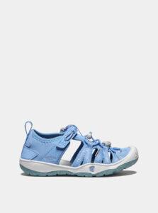 Svetlomodré dievčenské sandále Keen Moxie  C