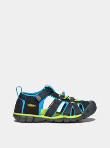 Čierne detské sandále Keen Seacamp II CNX C
