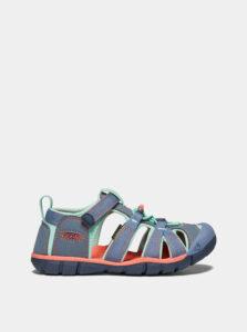 Modré detské sandále Keen Seacamp II CNX C