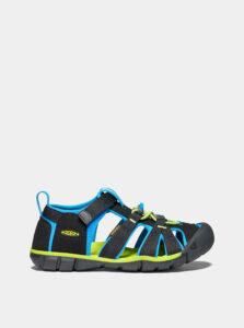 Čierne detské sandále Keen Seacamp II CNX Y