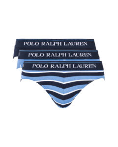 Polo Ralph Lauren Slipy 3 ks Modrá