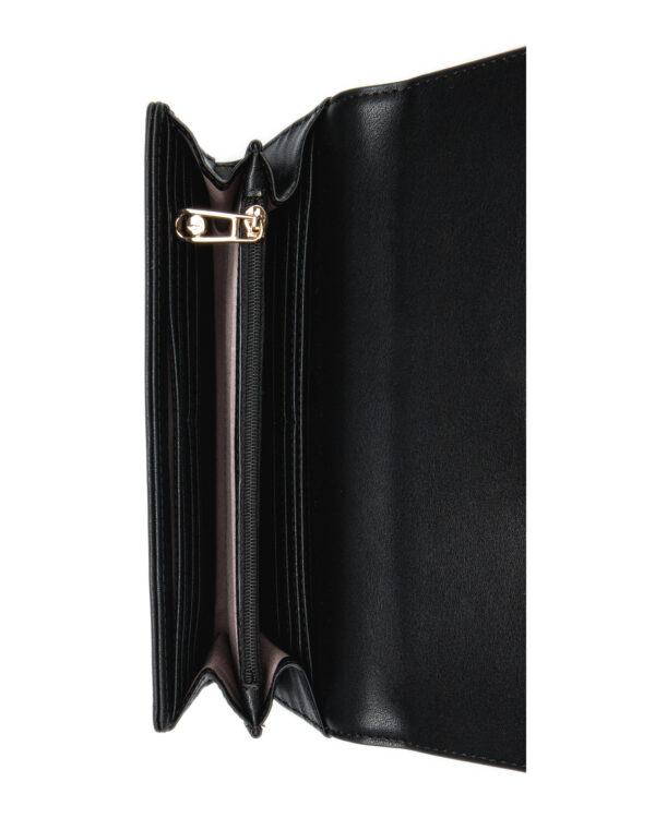 Trussardi Jeans Mya Large Peňaženka Čierna