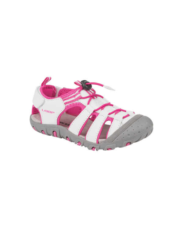Loap Dopey Sandále detské Ružová Biela