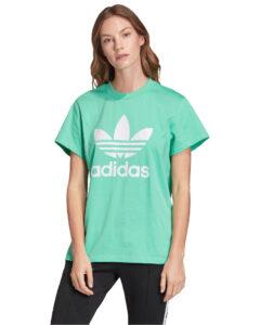adidas Originals Boyfriend Trefoil Tričko Zelená