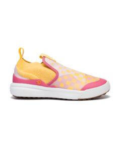 Vans Xtremeranger Slip On dětské Ružová Žltá Viacfarebná