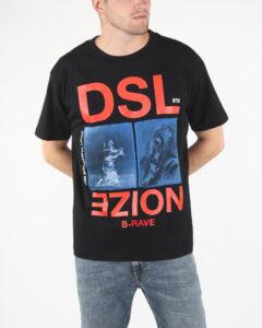 Diesel T-Wallace-Xc Tričko Čierna