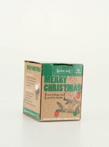 Sada na vypestovanie vianočného stromčeku Gift Republic Merry Christmas