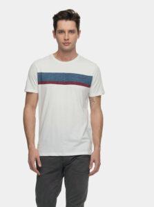Biele pánske tričko s potlačou Ragwear Hake Organic