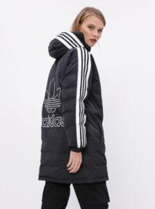 Čierna dámska zimná bunda adidas Originals Syn