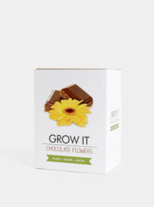 Sada na vypestovanie kvetiny Gift Republic Čokoláda