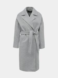 Svetlošedý kabát VERO MODA Calasa