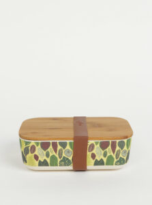 Zelený vzorovaný box na jedlo Tranquillo Botanical Garden