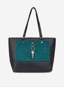 Zeleno-čierna kabelka Dorothy Perkins