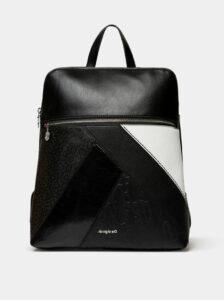 Čierny vzorovaný batoh Desigual