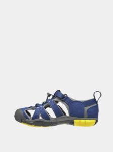 Modré detské sandále Keen Seacamp II CNX Jr