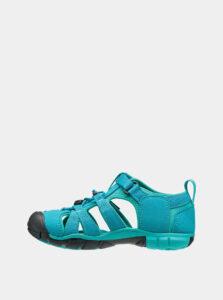 Tyrkysové detské sandále Keen Seacamp II CNX Jr