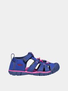 Ružovo-modré dievčenské sandále Keen Seacamp II CNX Y