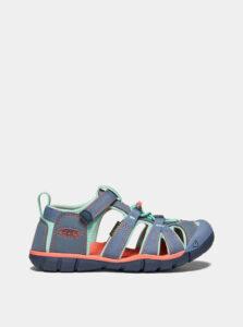 Modré detské sandále Keen Seacamp II CNX Y