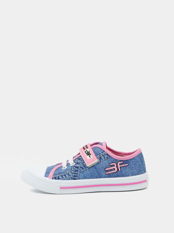 Modré dievčenské tenisky 3F