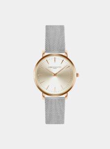 Dámske hodinky s nerezovým remienkom v striebornej farbe Annie Rosewood Primrose