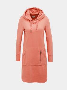 Ružové mikinové šaty ONLY