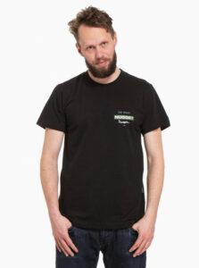 Čierne pánske tričko NUGGET Fulcrum