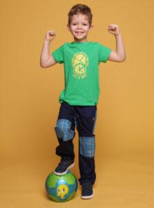 Zelené tričko s potlačou LOAP Baakis