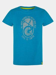 Modré chlapčenské tričko s potlačou LOAP Baakis