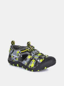 Šedé detské sandále LOAP Dopey