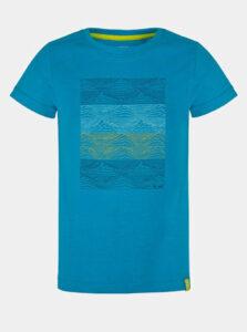 Modré chlapčenské tričko s potlačou LOAP Baris