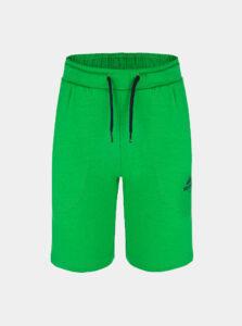 Zelené chlapčenské teplákové kraťasy LOAP Baidal