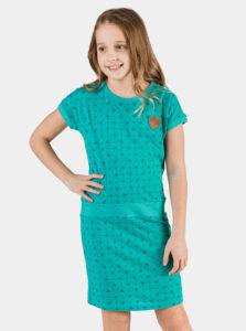 Modré dievčenské šaty SAM 73