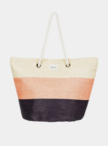 Čierno-béžová plážová taška Roxy