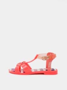 Ružové dievčenské sandále Zaxy