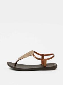 Hnedé dámske sandále Ipanema