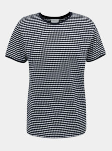 Tmavomodré pruhované tričko Lindbergh