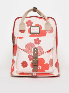 Ružový kvetovaný batoh Brakeburn