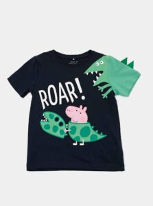 Tmavomodré detské tričko name it